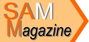 SAM Magazine logo