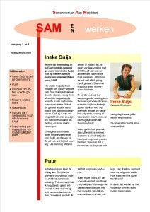 SAM magazine editie 1